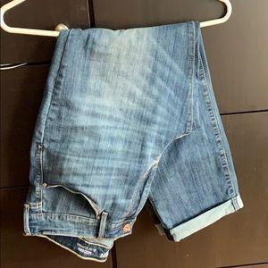 Denizen Modern Slim Cuffed Jeans